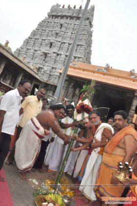 chithirai festival panthakal tiruvannamalai
